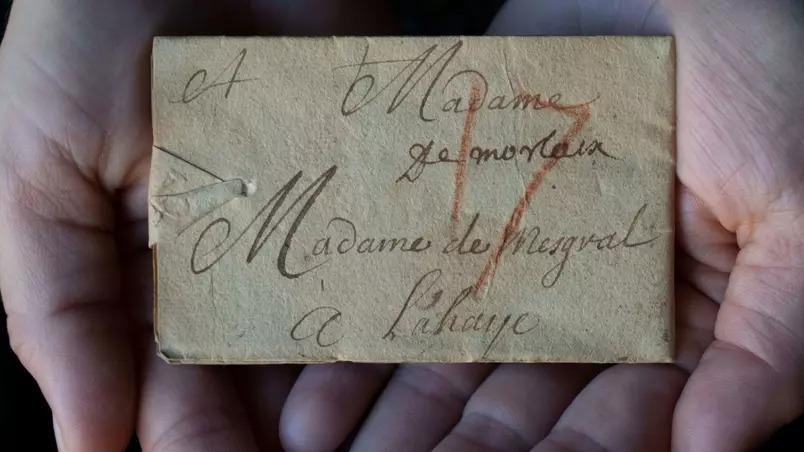 Carta rara 'trancada' há 300 anos é aberta virtualmente