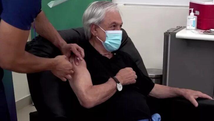 Presidente do chile espera vacinar a população adulta até o final de junho