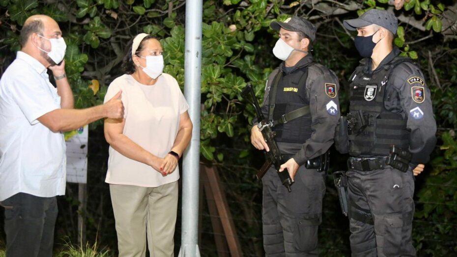 Governadora e vice-governador do rn acompanham fiscalizações do toque de recolher