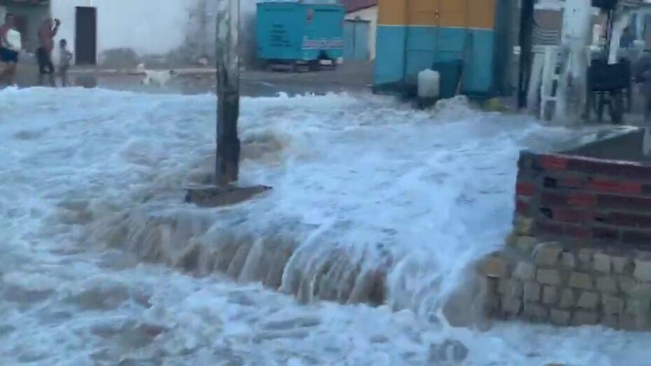 Município do rn decreta estado de calamidade por causa dos estragos causados pelo avanço do mar