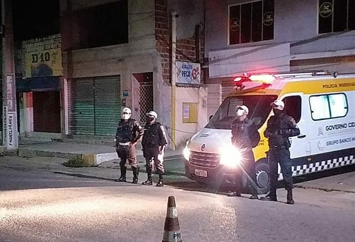 Toque de recolher: 9 estabelecimentos comerciais foram fechados em natal