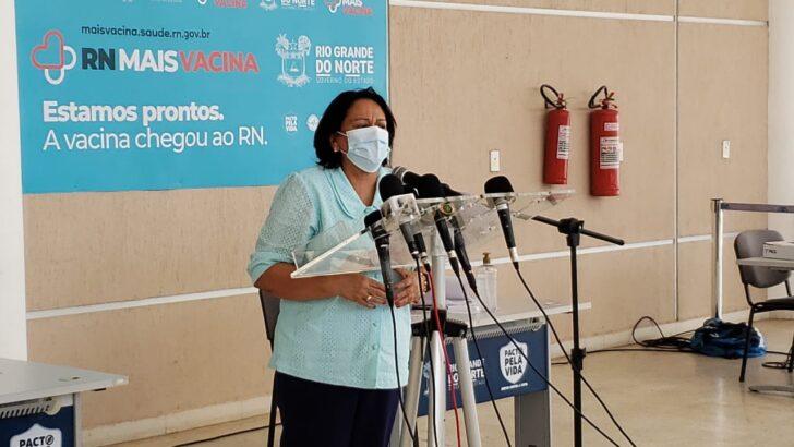 Fátima confirma amplia horário do toque de recolher no rn a partir deste sábado