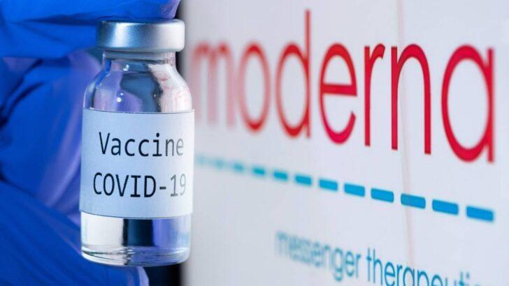 Ministério da saúde confirma acordo com a moderna para compra de doses