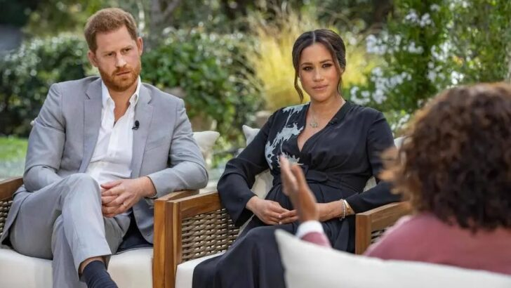 Meghan markle revela que família real tinha preocupações sobre a cor da pele de seu filho com harry