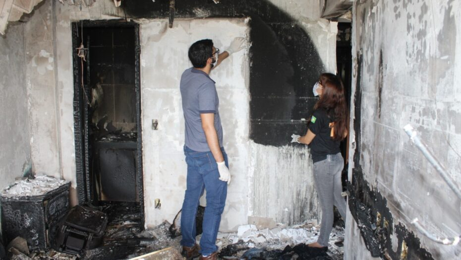 Itep visita apartamento que pegou fogo na zona leste de natal e perícia descobre origem do incêndio