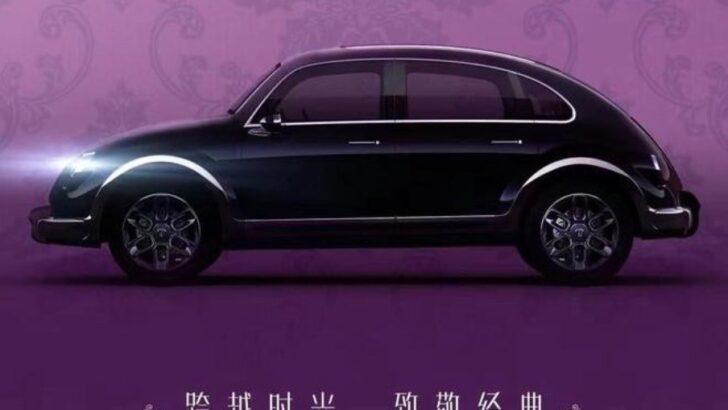 Marca chinesa ora cria carro elétrico com visual inspirado no fusca
