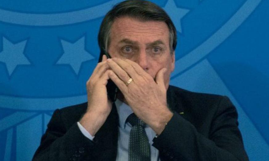 Mídia internacional destaca crise no brasil e bolsonaro sob pressão