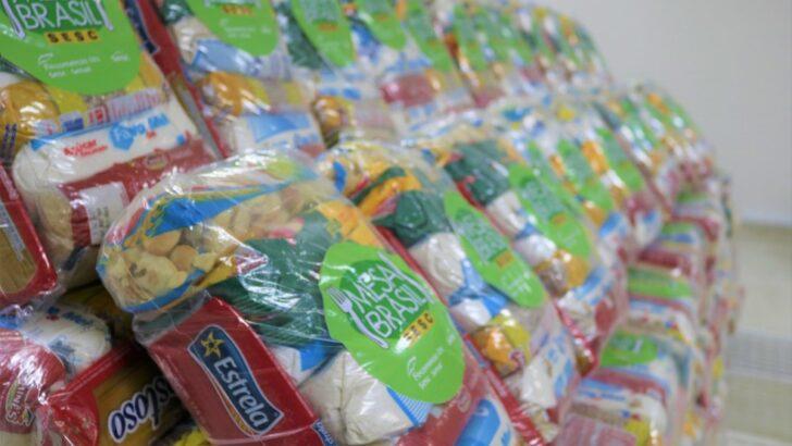 Fecomércio faz doação de 5 mil cestas básicas para potiguares que atuam no comércio, serviços e turismo