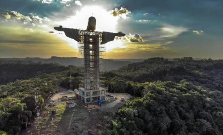 Brasil terá um novo cristo gigante, mais alto que o do rio de janeiro; saiba em qual estado