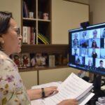 Fátima afirma que aulas presenciais retornam quando condições epidemiológicas permitirem