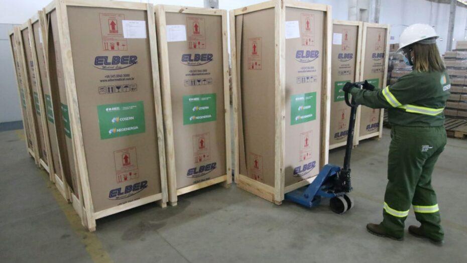 Municípios potiguares recebem refrigeradores para armazenar vacinas; confira quais