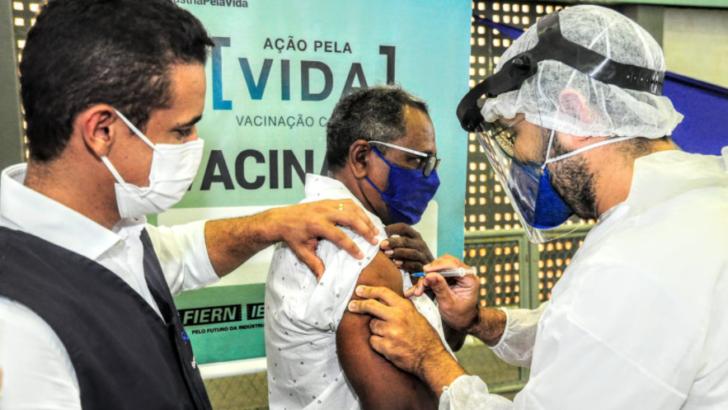 Prefeitura de mossoró inicia vacinação do primeiro grupo de pessoas com comorbidade