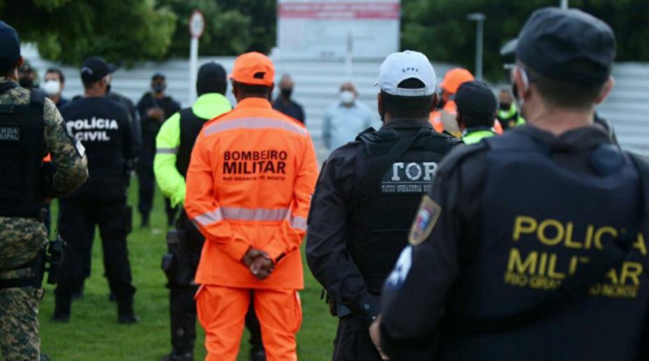 Forças de segurança do estado e de natal definem estratégias de fiscalização para a volta do toque de recolher