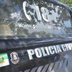 Polícia civil prende dois suspeitos de roubos a bancos no rn; fuzis e mais de 20 kg de explosivos são apreendidos
