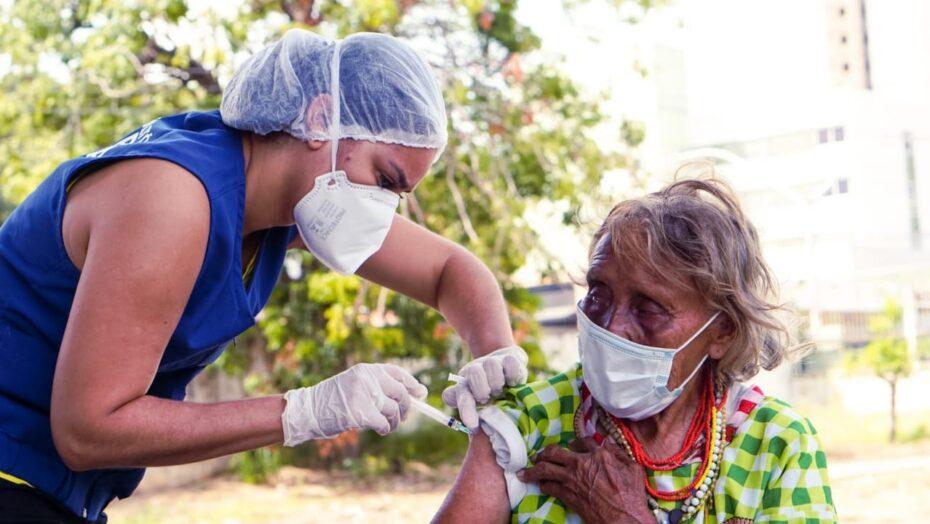 Sesap vacina indígenas venezuelanos da etnia warao refugiados em natal