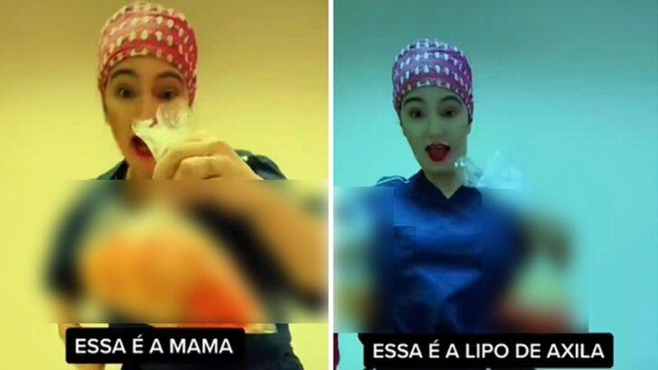Cremesp interdita cirurgiã que compartilhou vídeos com pele e gordura de pacientes após operar em sp