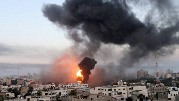 'guerra' entre israel e hamas já deixa 53 palestinos e 6 israelenses mortos