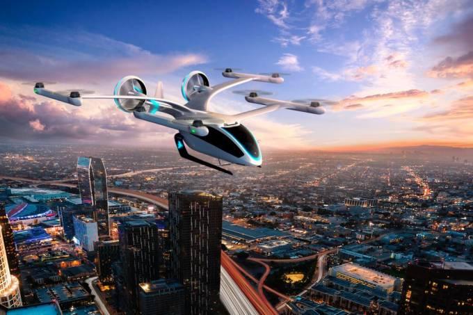 O futuro chegou: embraer fará teste de carro voador em tamanho real ainda neste ano