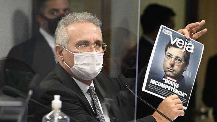 Renan pede, mas presidente da cpi diz que não vai mandar prender ex-secretário de bolsonaro por mentir