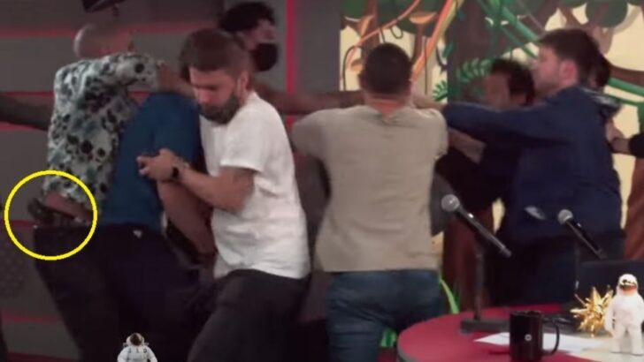 Debate envolvendo bolsonaro causa briga no pânico, homem armado entra no estúdio e clima de tensão nos bastidores