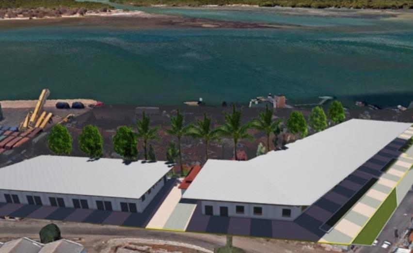 Prefeitura do natal retoma construção do centro comercial e de descasque de camarão do maruim