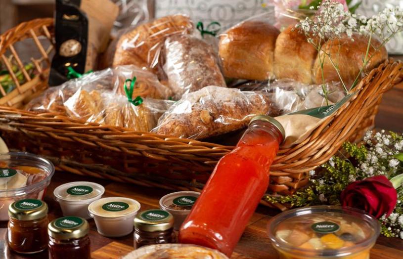 Impulsionada por delivery, cestas de café da manhã viram opção de presente para o dia das mães