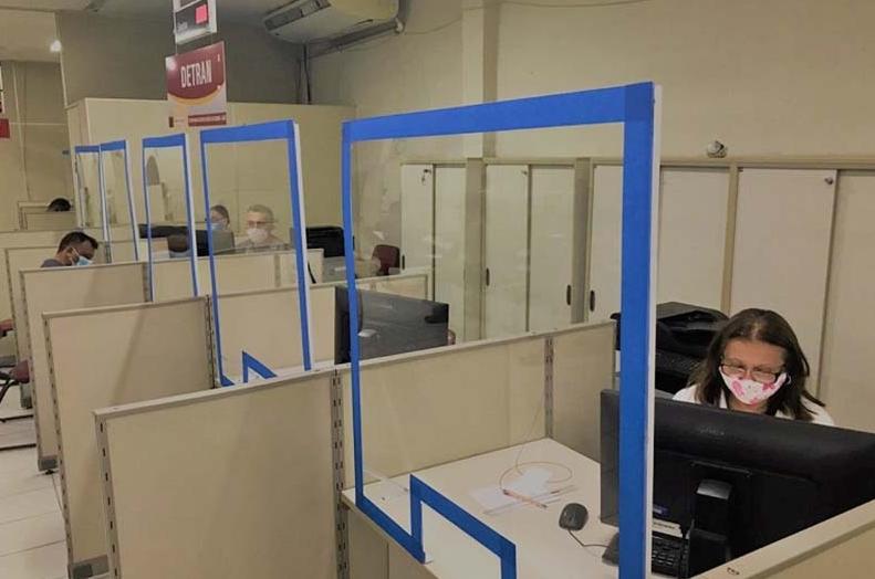Centrais do cidadão retomam serviços do detran em natal e região metropolitana