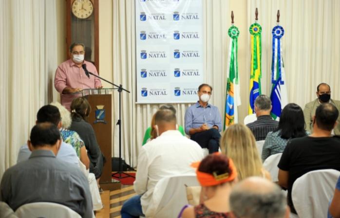 Solenidade marca posse do conselho de cultura e entrega do acervo de moacy cirne à prefeitura do natal