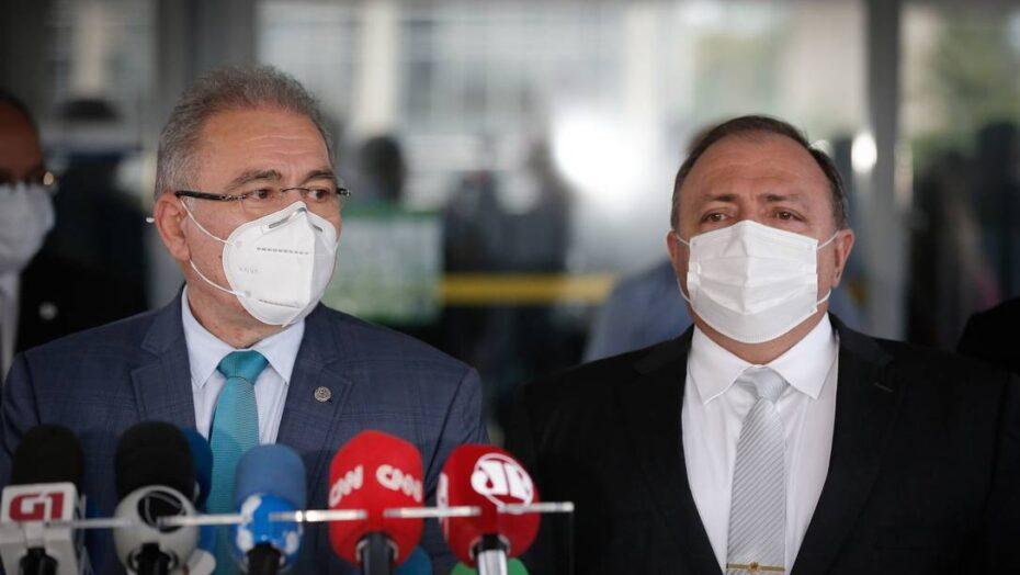 Cpi da covid convoca novamente pazuello e queiroga, ex e atual ministros da saúde