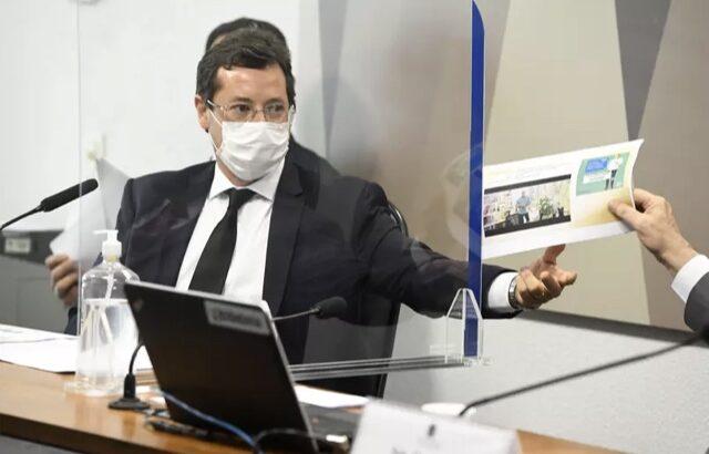 Renan calheiros pede prisão de wajngarten por mentir na cpi da covid-19