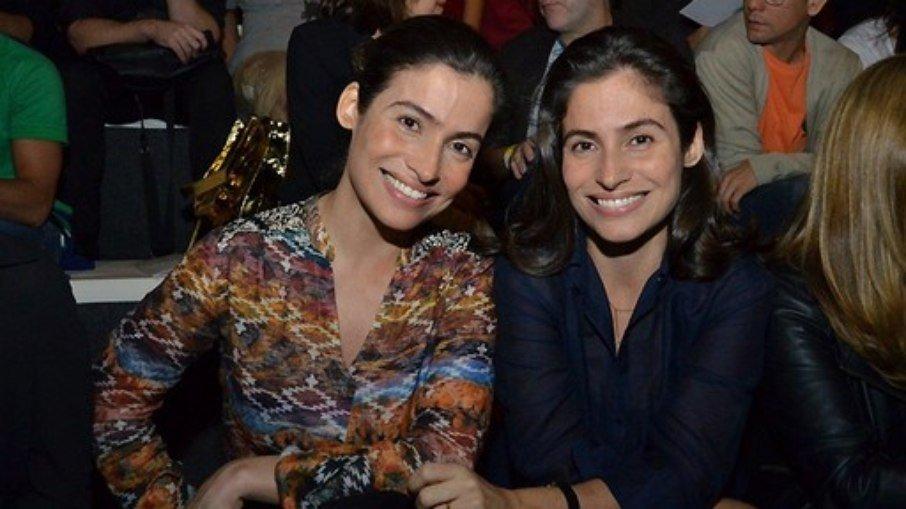 Irmã gêmea de renata vasconcellos diz que elas eram separadas na escola