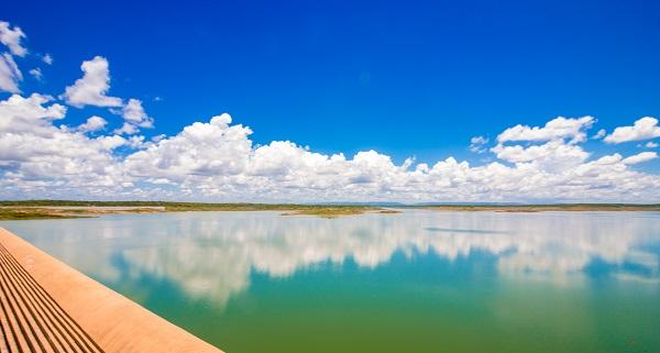 Barragem santa cruz do apodi acumula maior volume dos últimos 6 anos; veja situação de outros reservatórios pelo rn