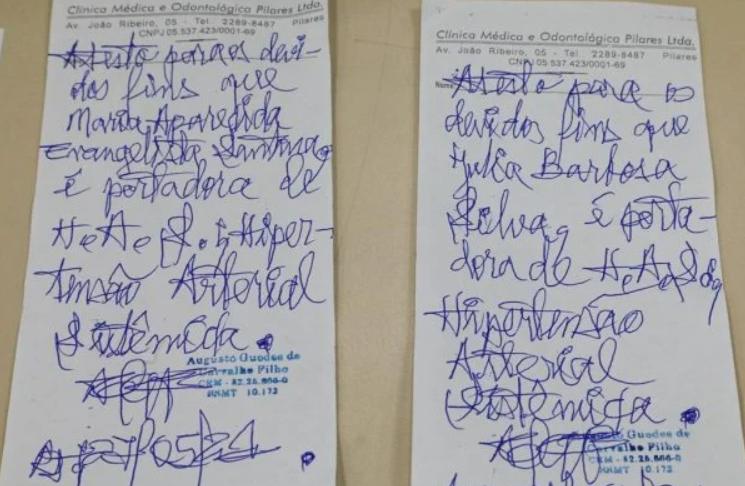 Laudos falsos de comorbidades são vendidos no país de r$ 20 a r$ 250