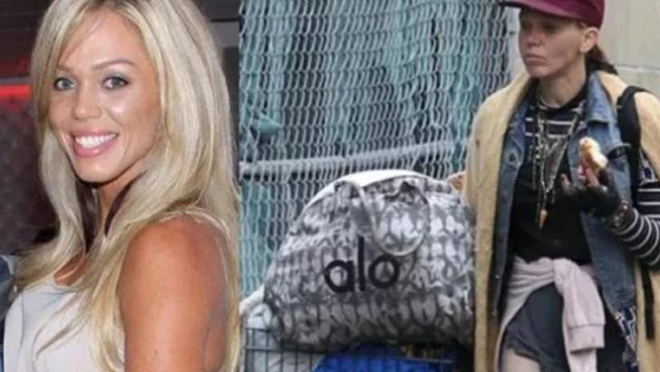 Ex-modelo é flagrada morando na rua e procurando comida no lixo