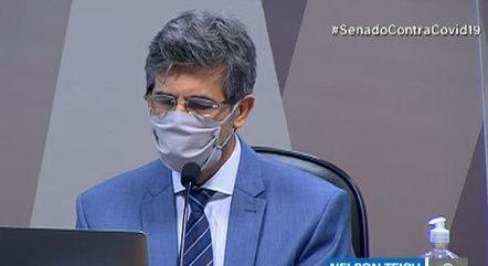 Cpi da covid: teich diz que saiu do governo por falta de autonomia
