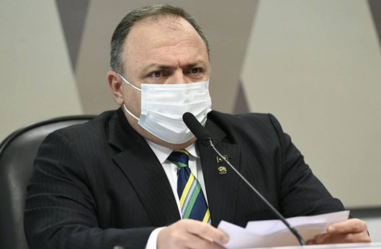 """Pazuello: """"bolsonaro nunca me deu ordens diretas para nada"""""""