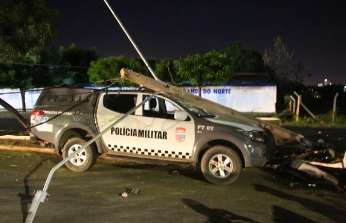 Quatro suspeitos de assalto morrem em mossoró após perseguição policial