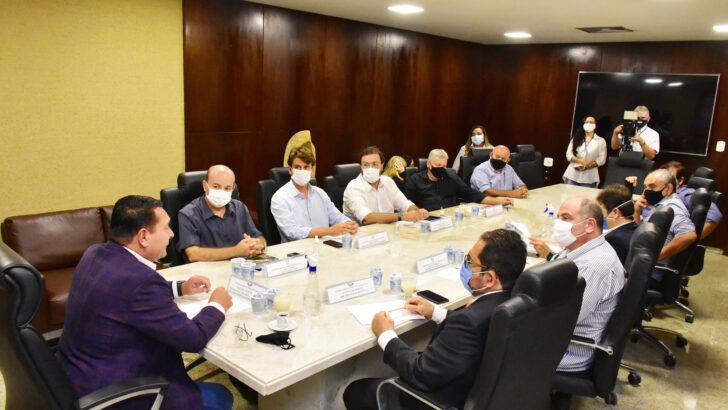 Presidente da assembleia se reúne com representantes dos setores de turismo e eventos