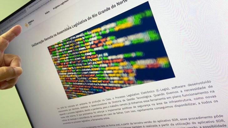 Sistema de deliberação remota da alrn é destaque em portal internacional de tecnologia