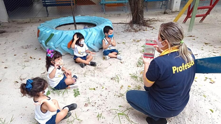 Escolas de natal instituem ensino ao ar livre como aliado durante a pandemia