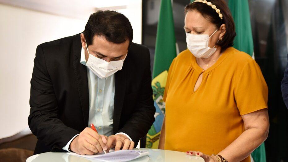 Governo do rn assina convênio com a prefeitura de monte alegre para a manutenção de trecho da rn-160