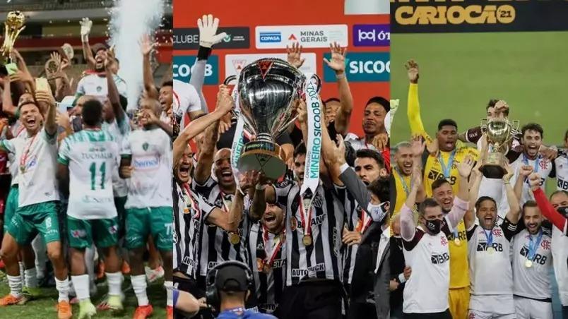 Conheça os clubes campeões estaduais de 2021
