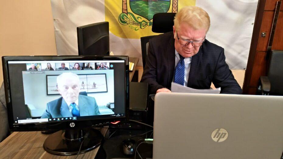 Em reunião com presidente do tjrn, deputado ubaldo solicita mais acesso da zn ao judiciário