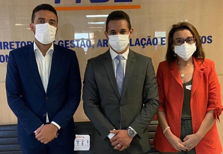 Em brasília, prefeito de mossoró busca liberar mais de r$ 4 milhões em recursos federais para educação pública