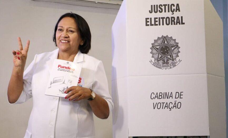 Fátima lidera pesquisa, consolida favoritismo e deve ser reeleita em 2022; confira