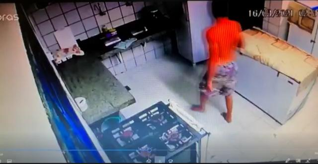 Vídeo: polícia civil procura suspeito de furto contra escola em parnamirim