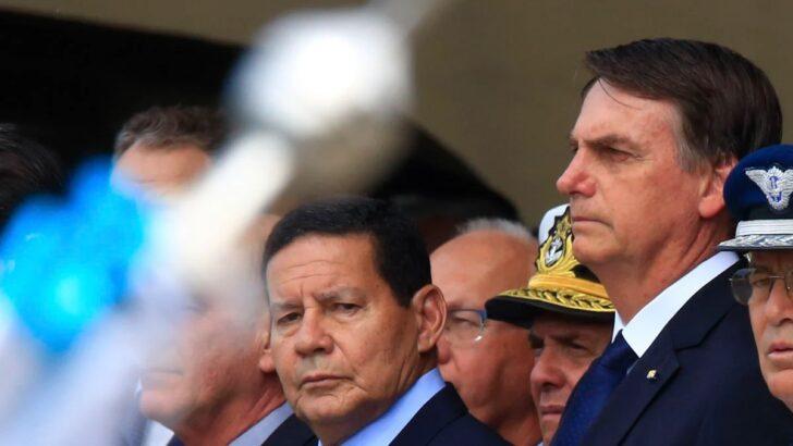 """Mourão: """"tudo indica que bolsonaro não me quer como vice em 2022"""""""
