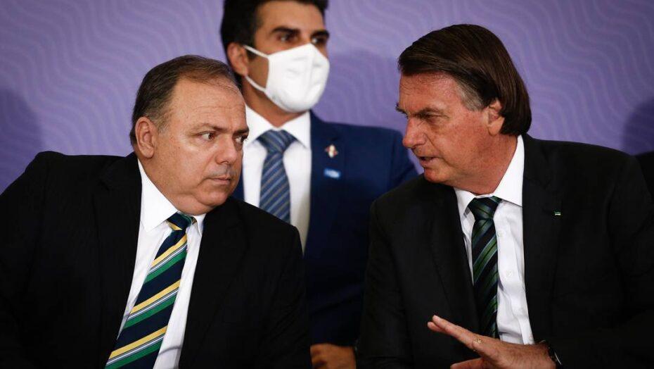 Bolsonaro participou de reunião em que governo decidiu que não haveria intervenção federal na saúde do amazonas, diz pazuello