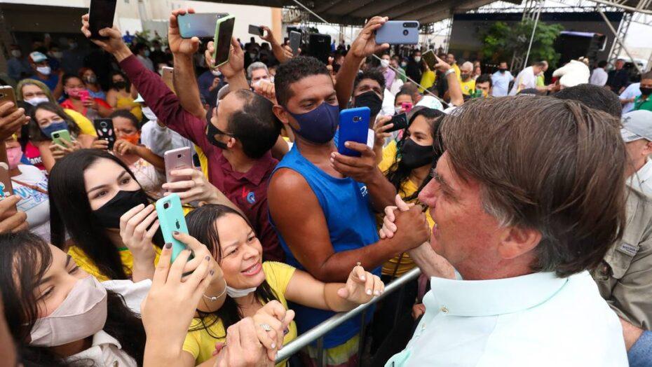 Partido de Álvaro dias vai apresentar ação para que bolsonaro respeite regras sanitárias em eventos públicos