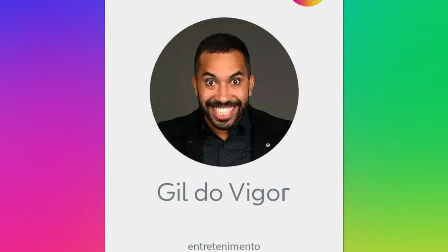 """Gil do vigor, do bbb 21, é contratado pela globo: """"estou muito chique, brasil!"""""""